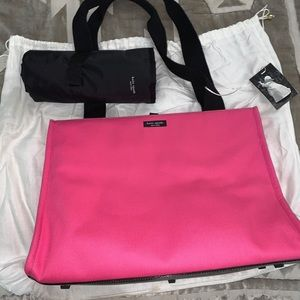 Kate Spade Diaper Bag with Mat